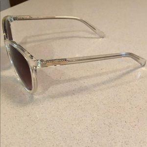 Calvin Klein sunglasses - clear & silver